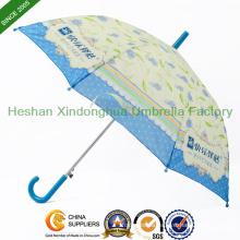 Heat Transfer Printing Cartoon Children Umbrellas for Kids (KID-1019H)