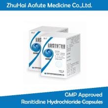 GMP a approuvé des capsules de chlorhydrate de Ranitidine