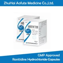 GMP Aprovado Ranitidine Hydrochloride Cápsulas