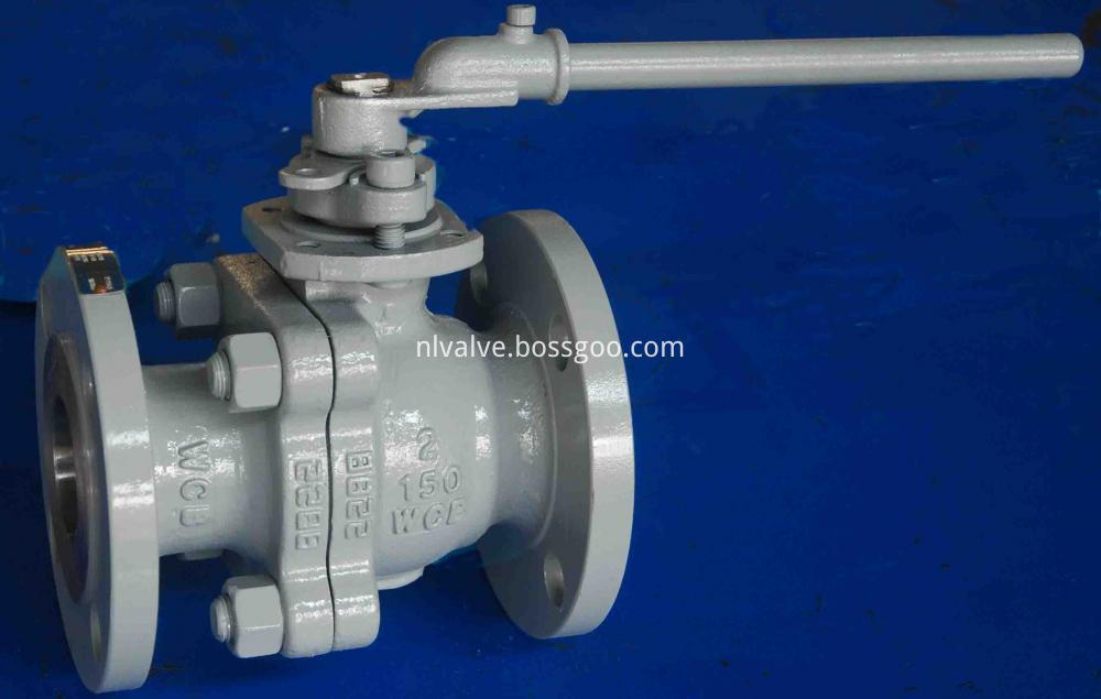 Lever Operated Carbon Steel Floating Ball Valve
