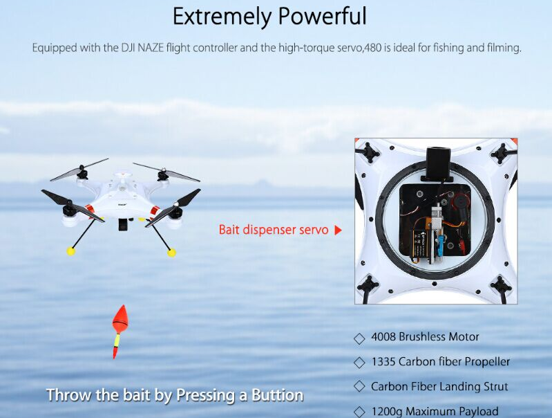 Water Drone Fishing
