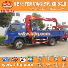 FOTON 4x4 2 Tonnen 130hp Geländewagen montiert Kran Heißer Verkauf