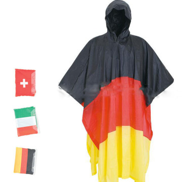 Hot Sale Top quality Flap PVC rain poncho