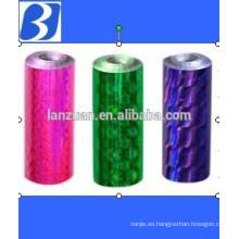 Laser holographic BOPP film