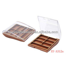 Six Color Square Eyeshadow Container