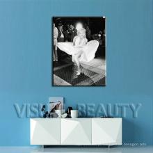 Marilyn clássico Monroe impressão em canvas Decoração da parede impressão