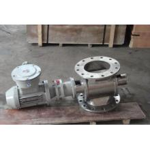 Square mouth abo discharge valve