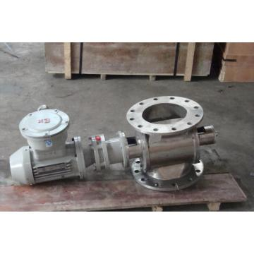 Square mouth ash discharge valve