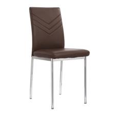 Unité centrale moderne Chrome dos haute salle à manger chaise