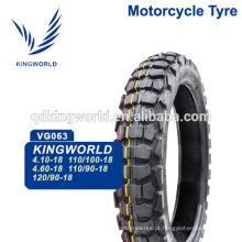 pneus de moto de fábrica de Qingdao 110/100-18