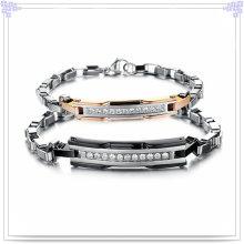Couple Jewelry Charm Fashion Stainless Steeel Bracelet (HR3158)