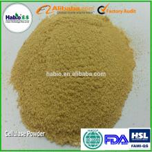Polvo de celulasa para la nutrición animal