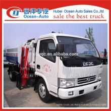 DFAC 2015 Neuer Zustand Chengli Roll auf Roll-Müllwagen