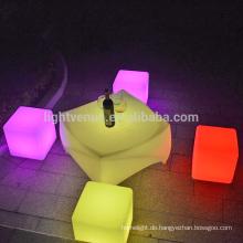 wiederaufladbare IR Steuerung Farbwechsel LED Möbel Leuchten verwendet bar /party
