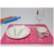 Anak-anak Silicone Colorful Dining Dining Mats