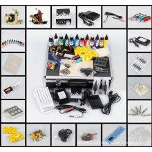 Venta caliente profesional kits de tatuaje gratis y kits baratos de aerógrafo para principiantes