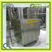 Machine d'homogénéisateur de petit lait en acier inoxydable