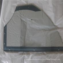 Fabricantes de vidro temperado fornecem vidro de prateleira de canto / vidro de aparelho