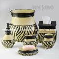 Ensemble d'accessoires de bain Polyresin de style Moyen-Orient (WBP1126A)