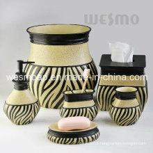 Middle East Style Polyresin Bath Accessories Set (WBP1126A)