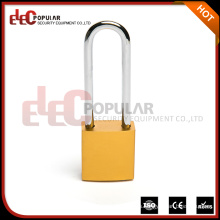 Elecpopular Productos de importación baratos Long Shackle Colorido Aluminio Body Candado