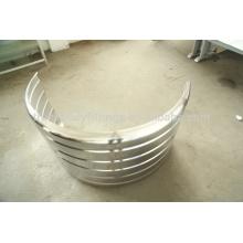 Quality--assured Stainless steel mudguard / Quarter fender for heavy truck 112008