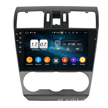 Octa core car entertainment voor Forester / XV 2013