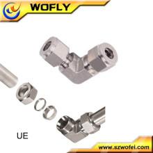 Equipo de la máquina de acero inoxidable de compresión codo unión tubería accesorios