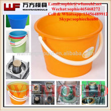 2 cavity 1 Gallon plastic injection Pail Mould with high quality taizhou mold factory