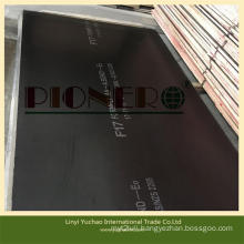 E0 Grade Phenolic F17 Film Faced Plywood for Construction