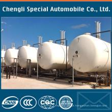Petroleiro cilíndrico do LPG do tanque 5000L cilíndrico