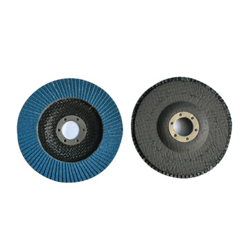 Metal Grinding Calcined Aluminium Oxide Flap Disc