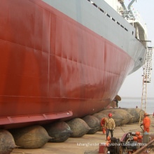 china factory supplier rubber floating ship salvage pontoon