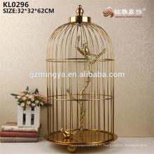 Grande décoration or ornement de hall d'ornement style chinois intérieur jardin intérieur artisanat décoratif en métal