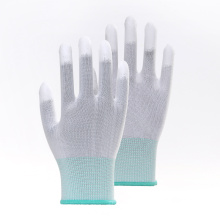 13G PU Top Coated Breathable Work Gloves