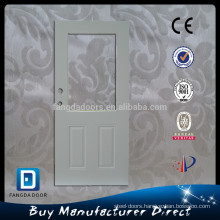 Fangda pre-cut out forge colored glass door