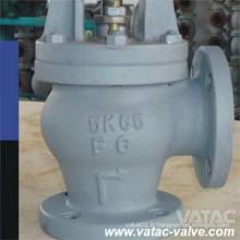 Fonte ductile / Fonte / D. I / C. I Angle Marine Globe Valve de Wenzhou