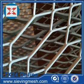Galvanized Hexagonal Expanded Mesh Metal