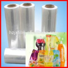 Película 100% de estiramiento de la materia prima / película del polietileno / película clara estupenda del animal doméstico