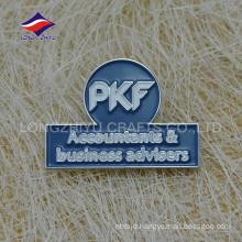 Cheap metal enamel company brand souvenir lapel pin