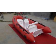 quente RIB390 do barco barco inflável de casco rígido com CE