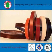 Bande de chant en grain de bois de haute qualité