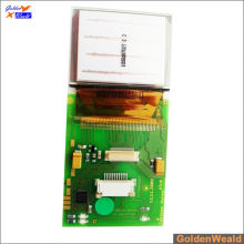 smt & dip pcb assembly con interruptores y RGB LEDs aluminio pcb assembly