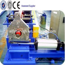 Ronda bajante tubo que hace la máquina/de la lluvia gutter Pitorrobajo metal formación en frío máquina
