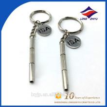 Schlüsselanhänger in China Großhandel Blank Custom Metal Schlüsselanhänger