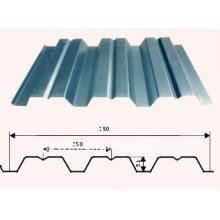 Trapezprofil-Bodenplatten-Formmaschine