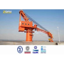 Ship Crane Fixed on the Deck Offshore for sale