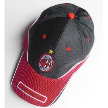Customized soccer team cap mesh football club cap hat