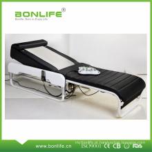 Cama de massagem portátil com apoio de cabeça ajustável
