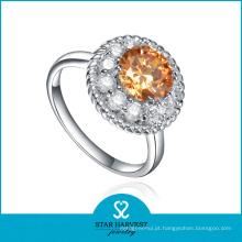 2015 Estilo aberto de prata jóias anel de vendas em linha (R-0559)